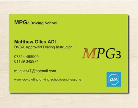 MPG3 Driving School - Twyford, Berkshire RG10 9LA - 07814 498909 | ShowMeLocal.com