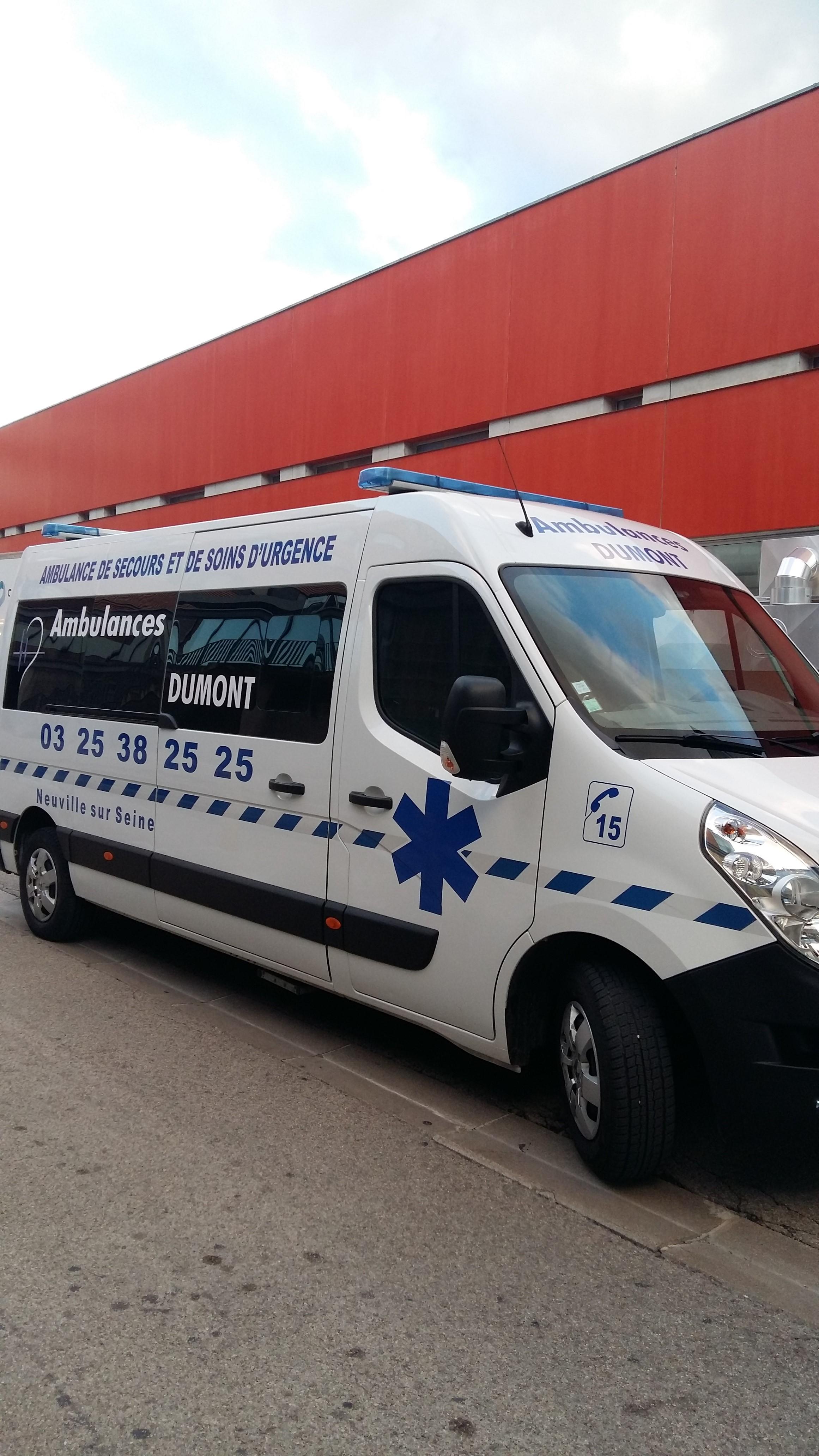 Ambulances Taxi VSL Dumont
