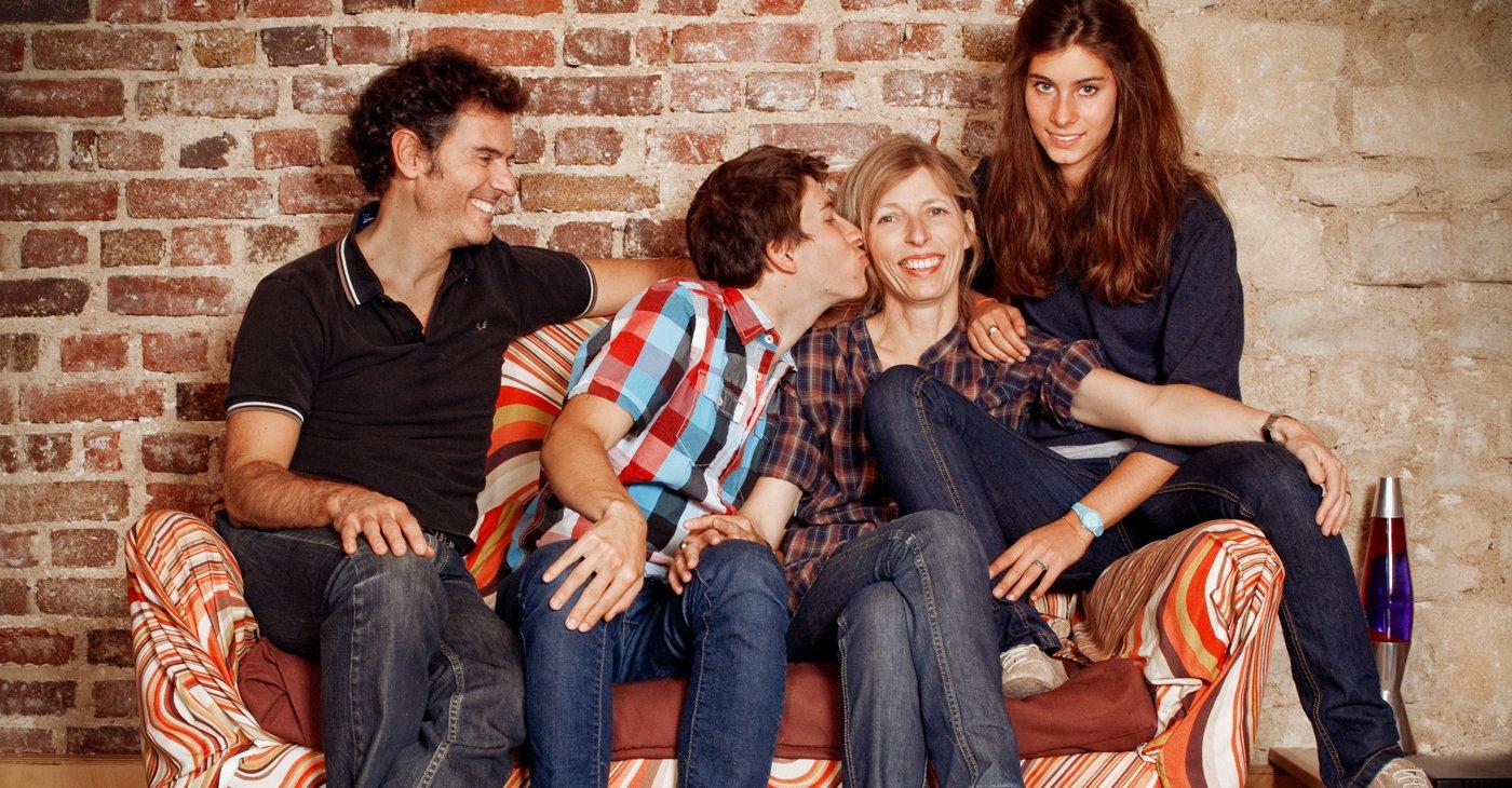Portrait de Famille - Shooting photo famille Paris