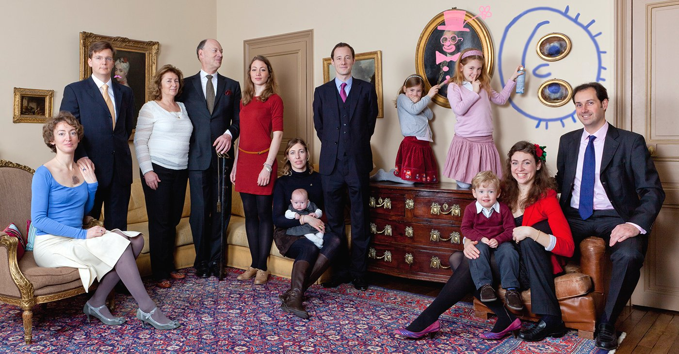 Portrait de Famille - Shooting photo famille Paris