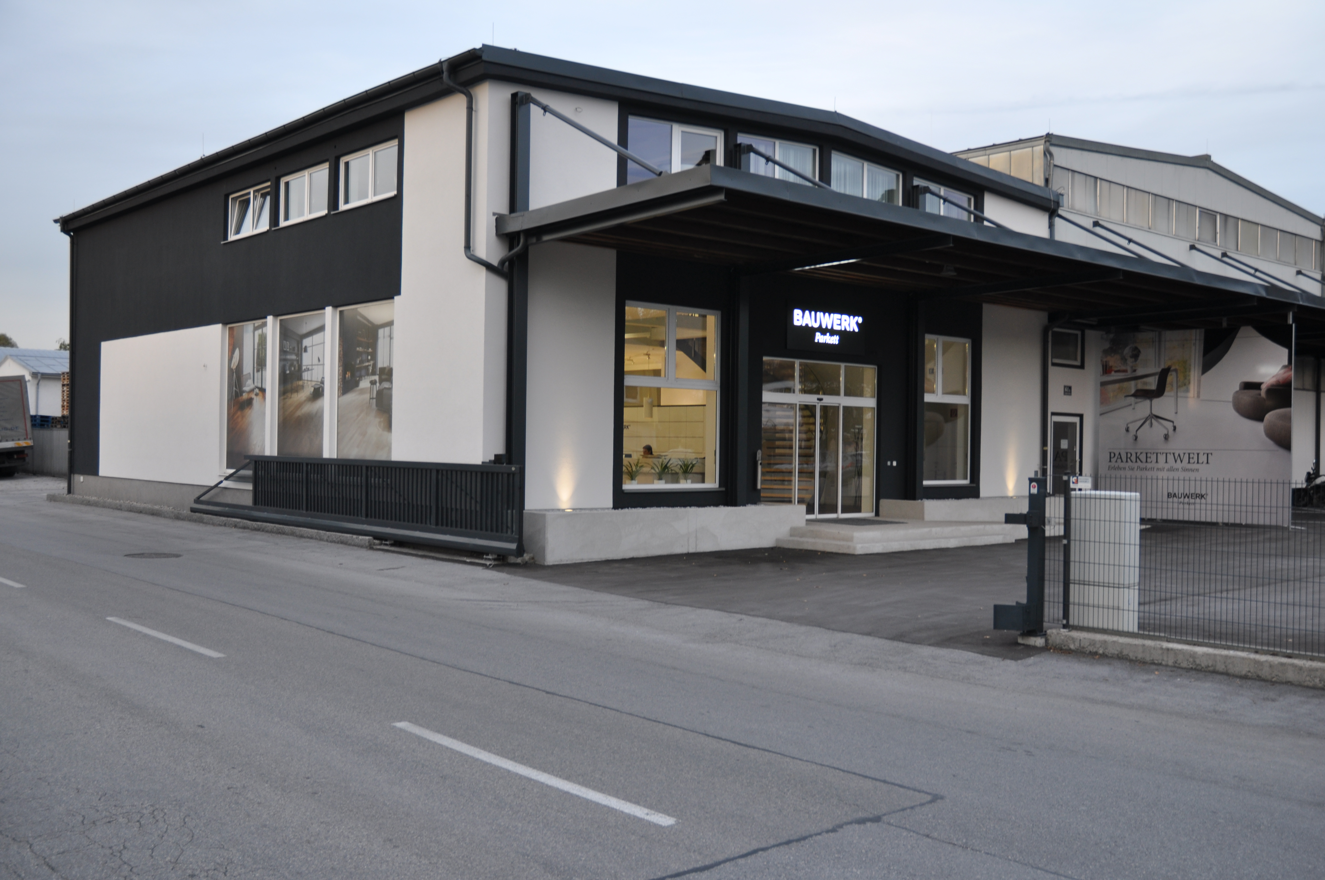 Bauwerk Parkettwelt Salzburg