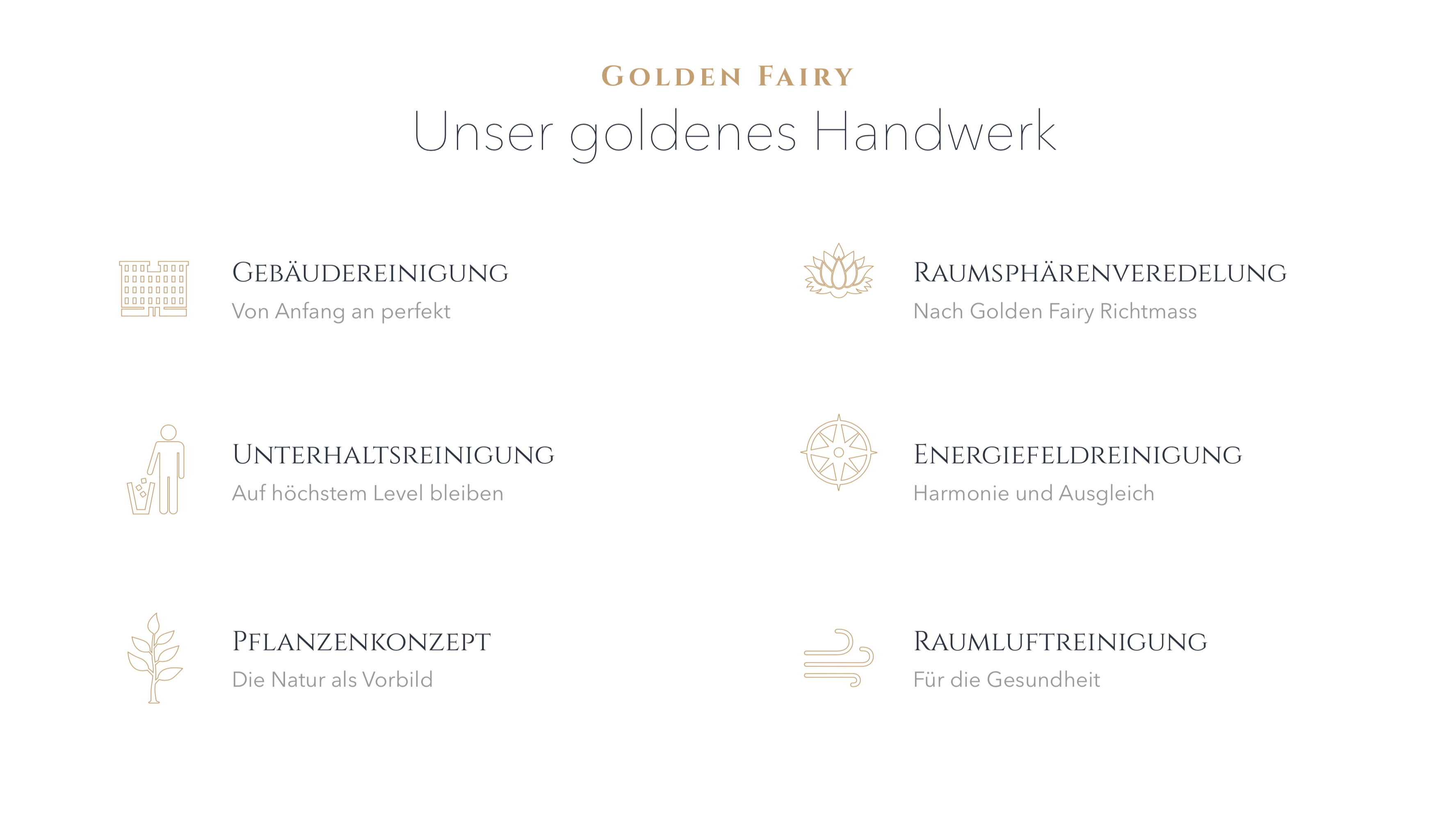 Golden Fairy - Facility Management