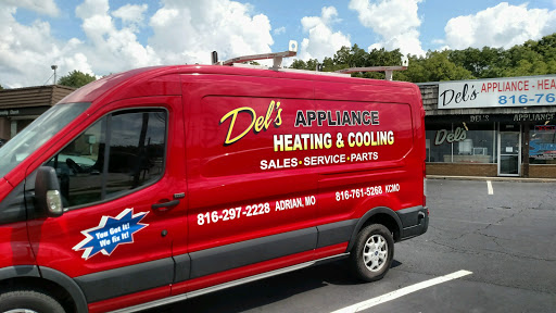 Del's Appliance Heating & Cooling - Kansas City, MO 64137 - (816)761-5268 | ShowMeLocal.com