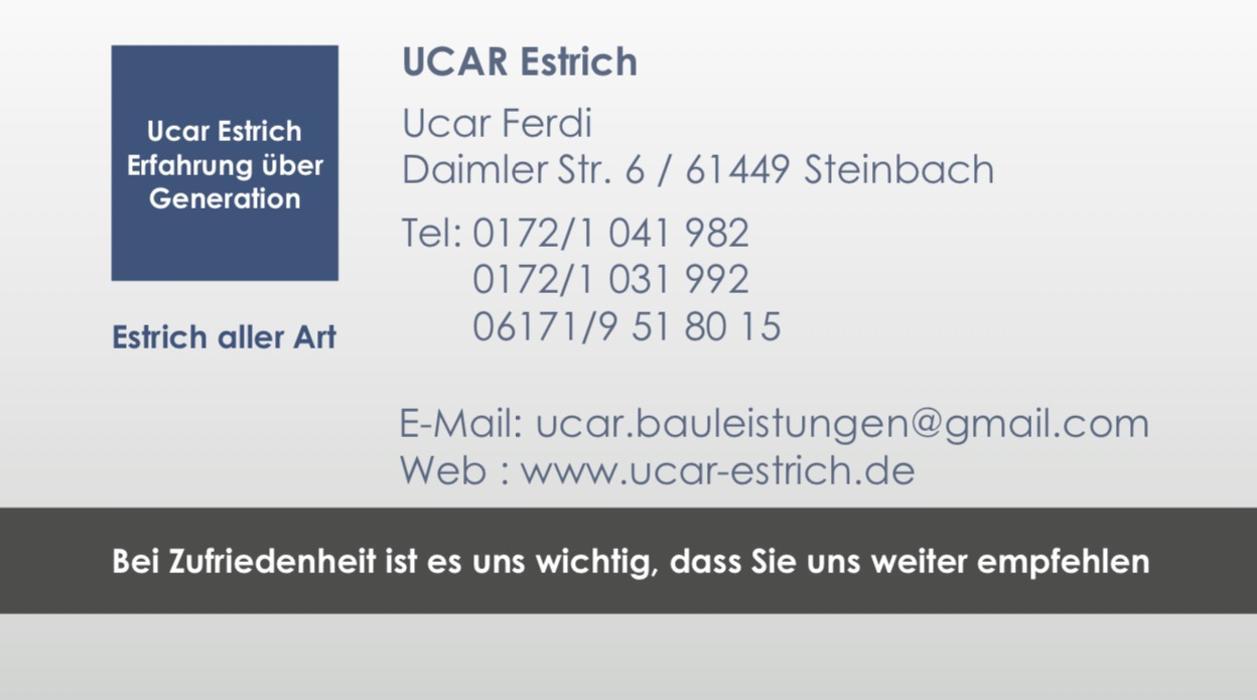 Bild zu Ucar Estrich in Steinbach im Taunus