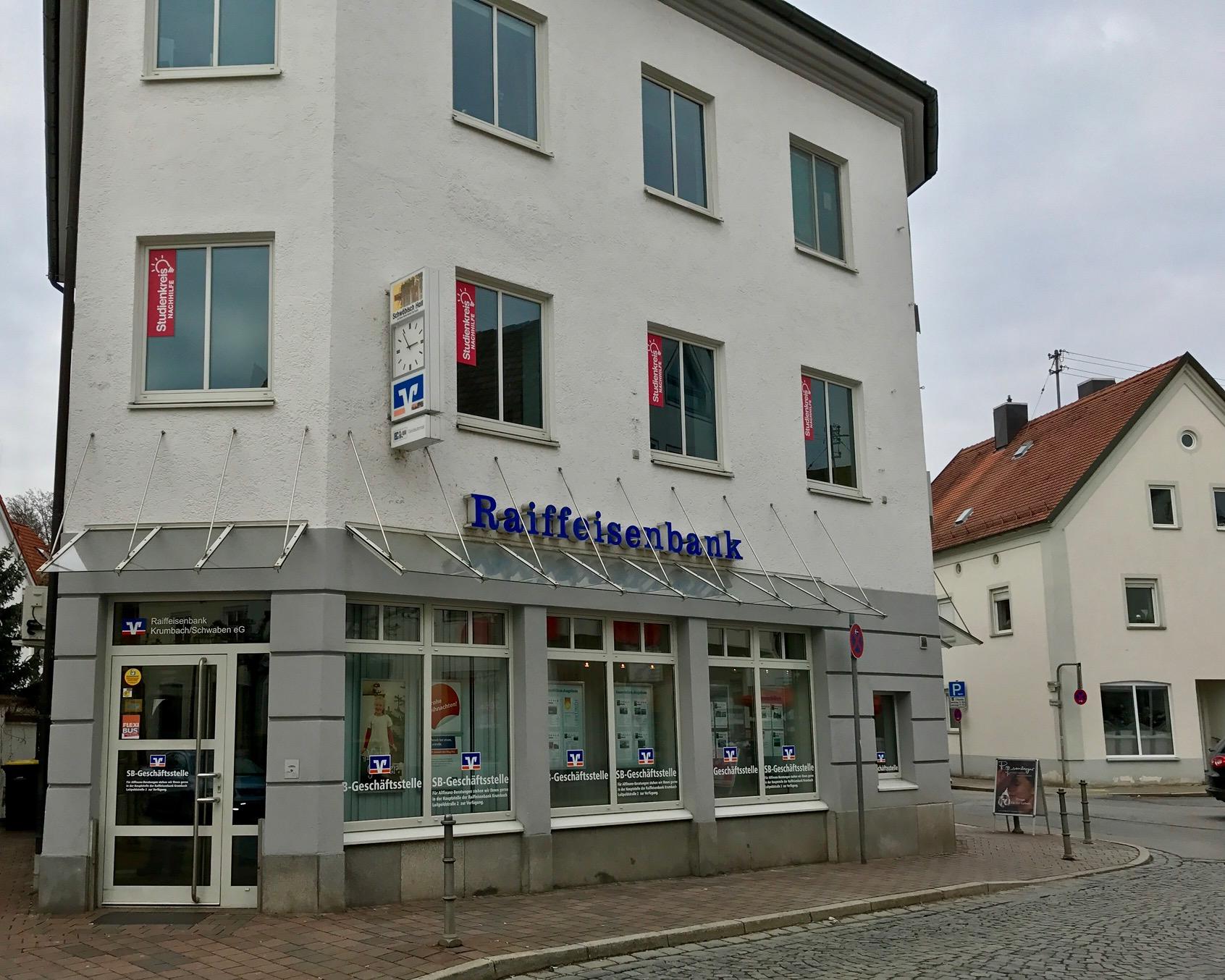 Geldautomat Krumbach - Raiffeisenbank Schwaben Mitte eG