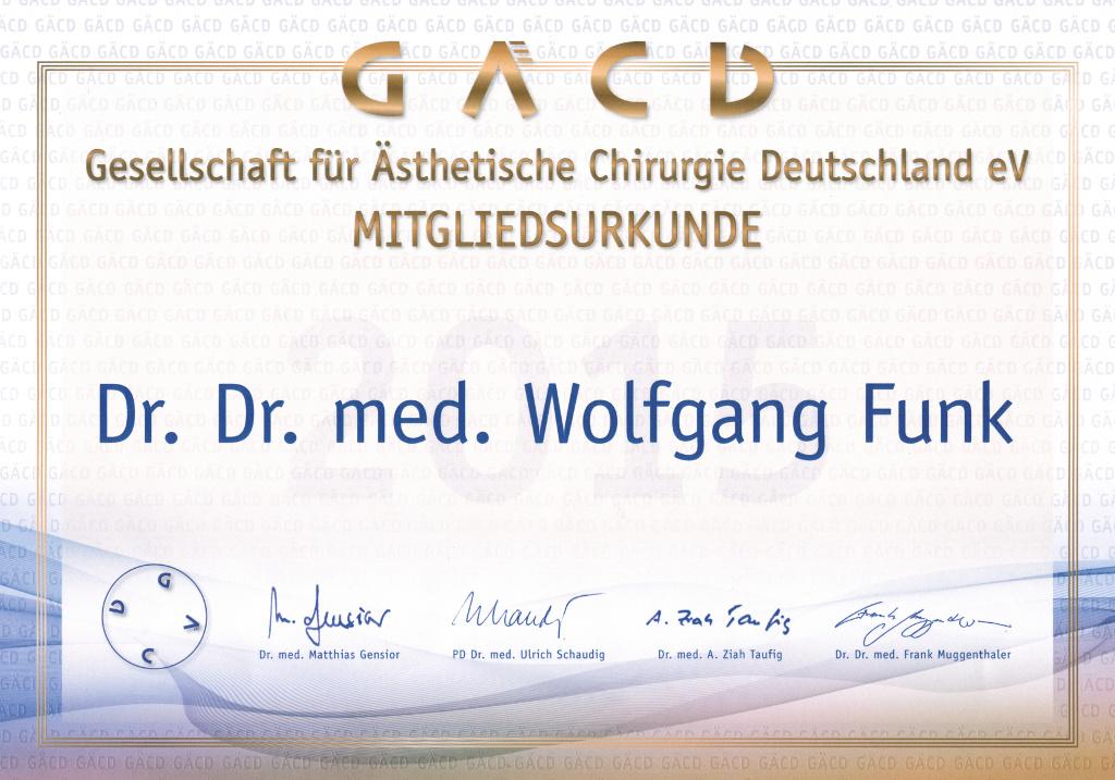 Schönheitsklinik Dr Funk München