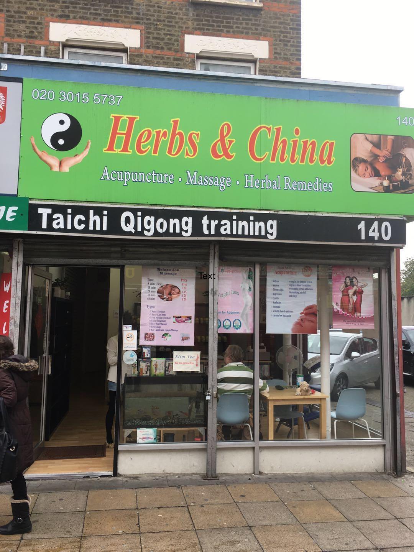 Herbs & China