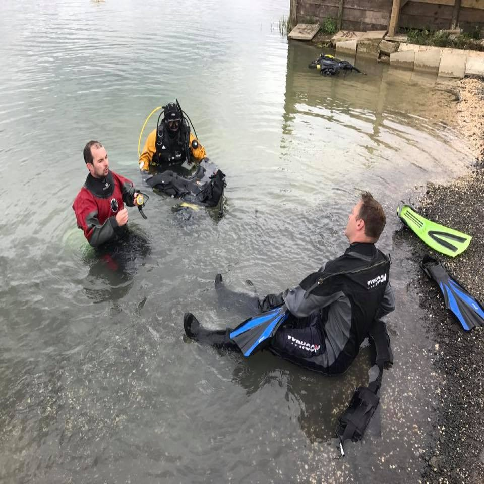 Scuba Diving in Hull