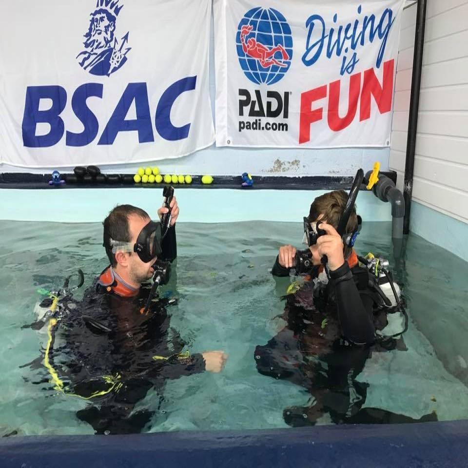 Scuba Diving in Hull