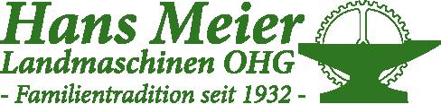 Hans Meier Landmaschinen OHG