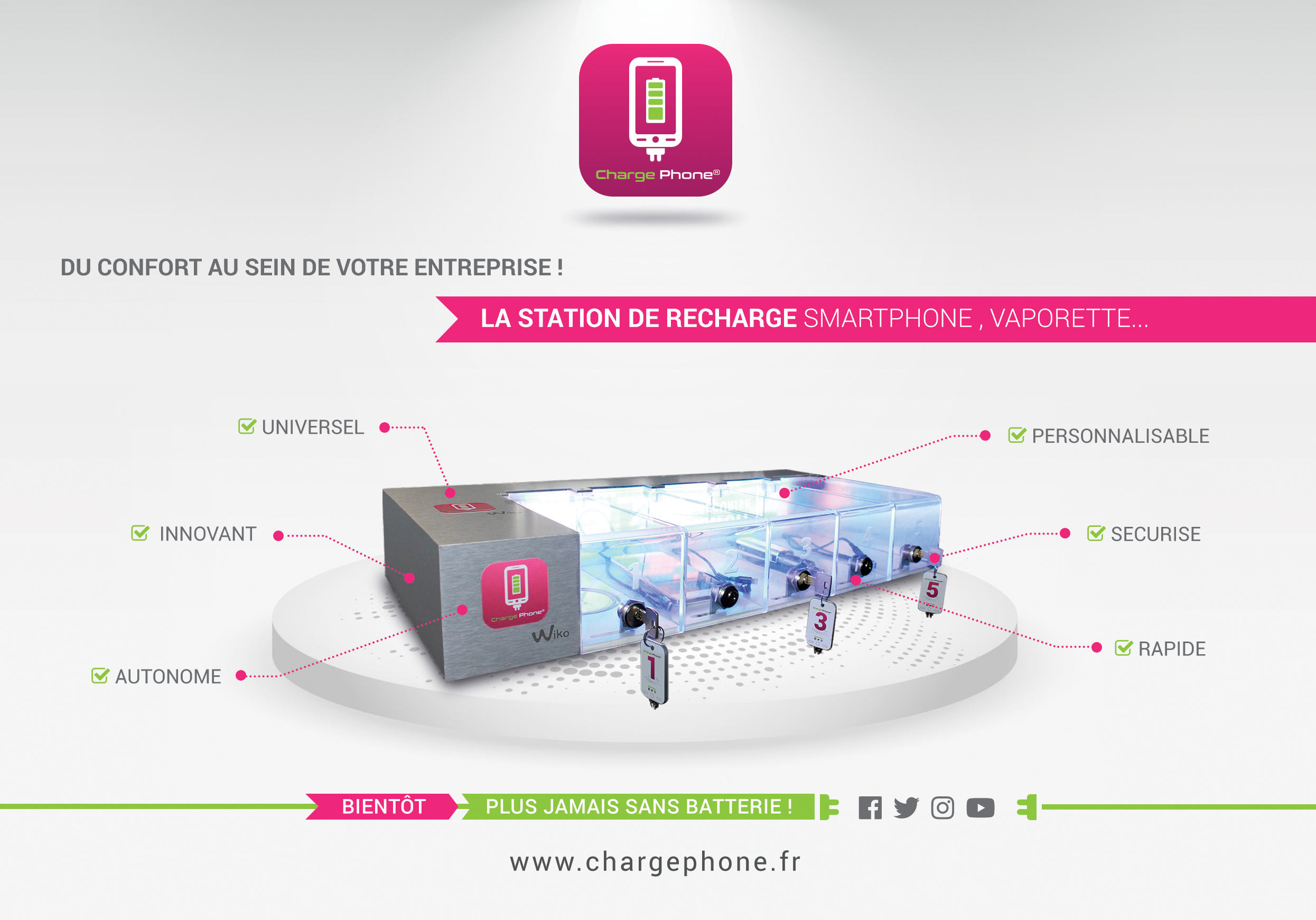charge phone