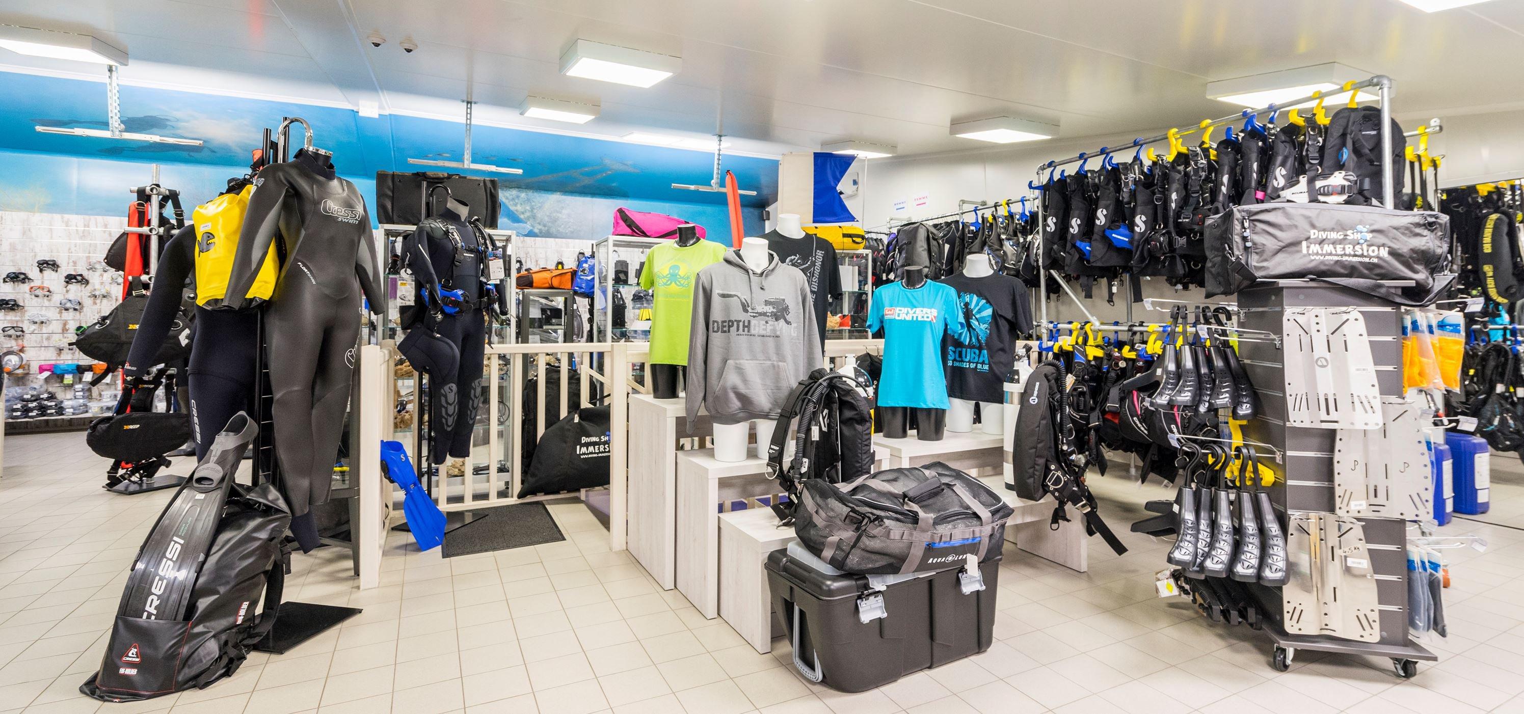 Diving Shop Immersion SA