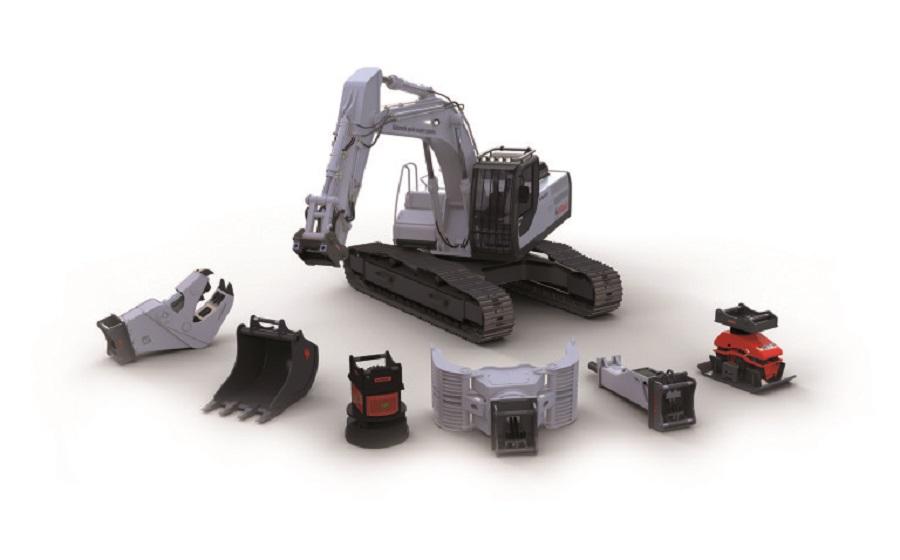 Eisenwagen Baumaschinen