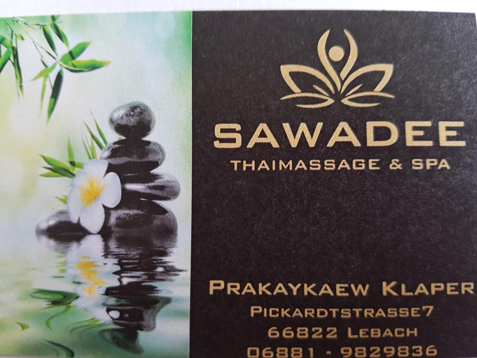 Bild zu Sawadee Thaimassage & Spa in Lebach