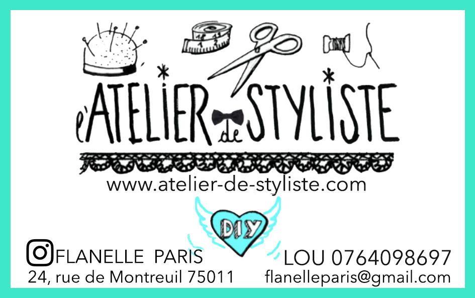 l'atelier de styliste