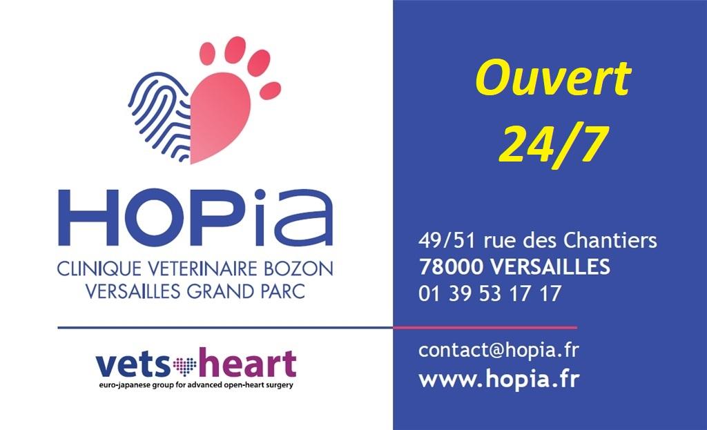 HOPia - CLINIQUE VETERINAIRE BOZON 24/7