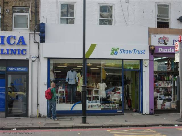Shaw Trust - Charity shop - Stoke Newington
