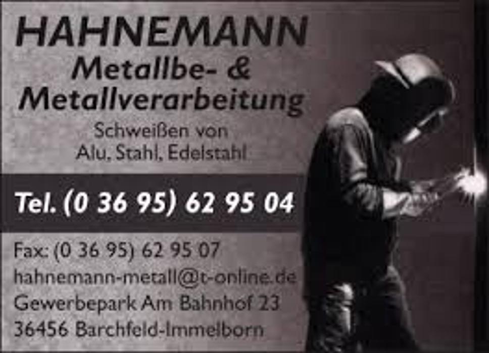 Bild zu Hahnemann Metallbe- & Metallverarbeitung in Barchfeld Immelborn