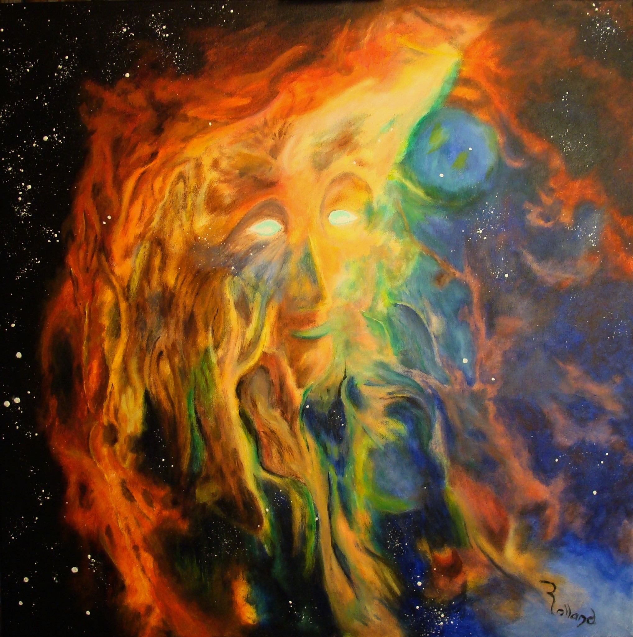 Artiste peintre plasticien Christian ROLLAND