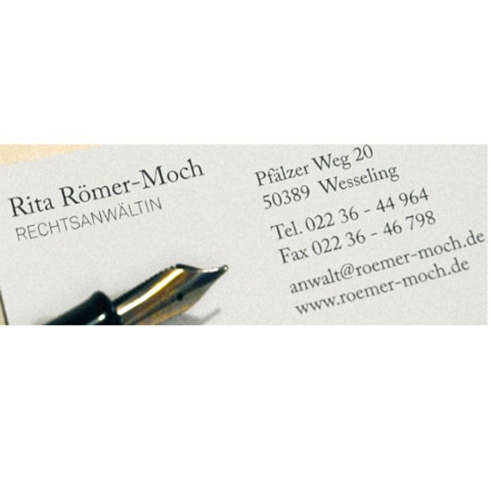 Bild zu Rita Römer-Moch Rechtsanwältin in Wesseling im Rheinland