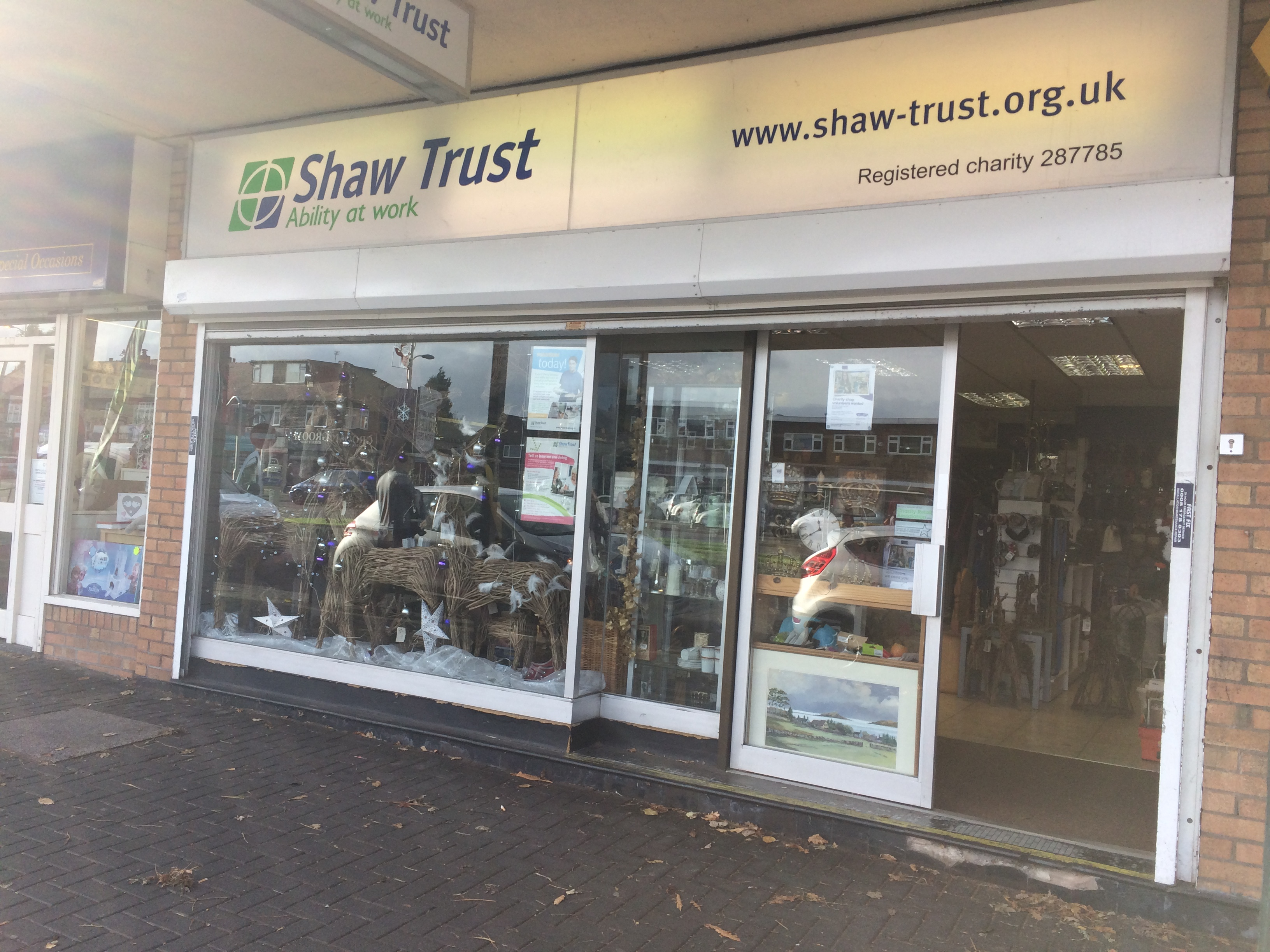Shaw Trust - Charity shop - Handforth - Wilmslow, Cheshire SK9 3HQ - 01625 540439 | ShowMeLocal.com