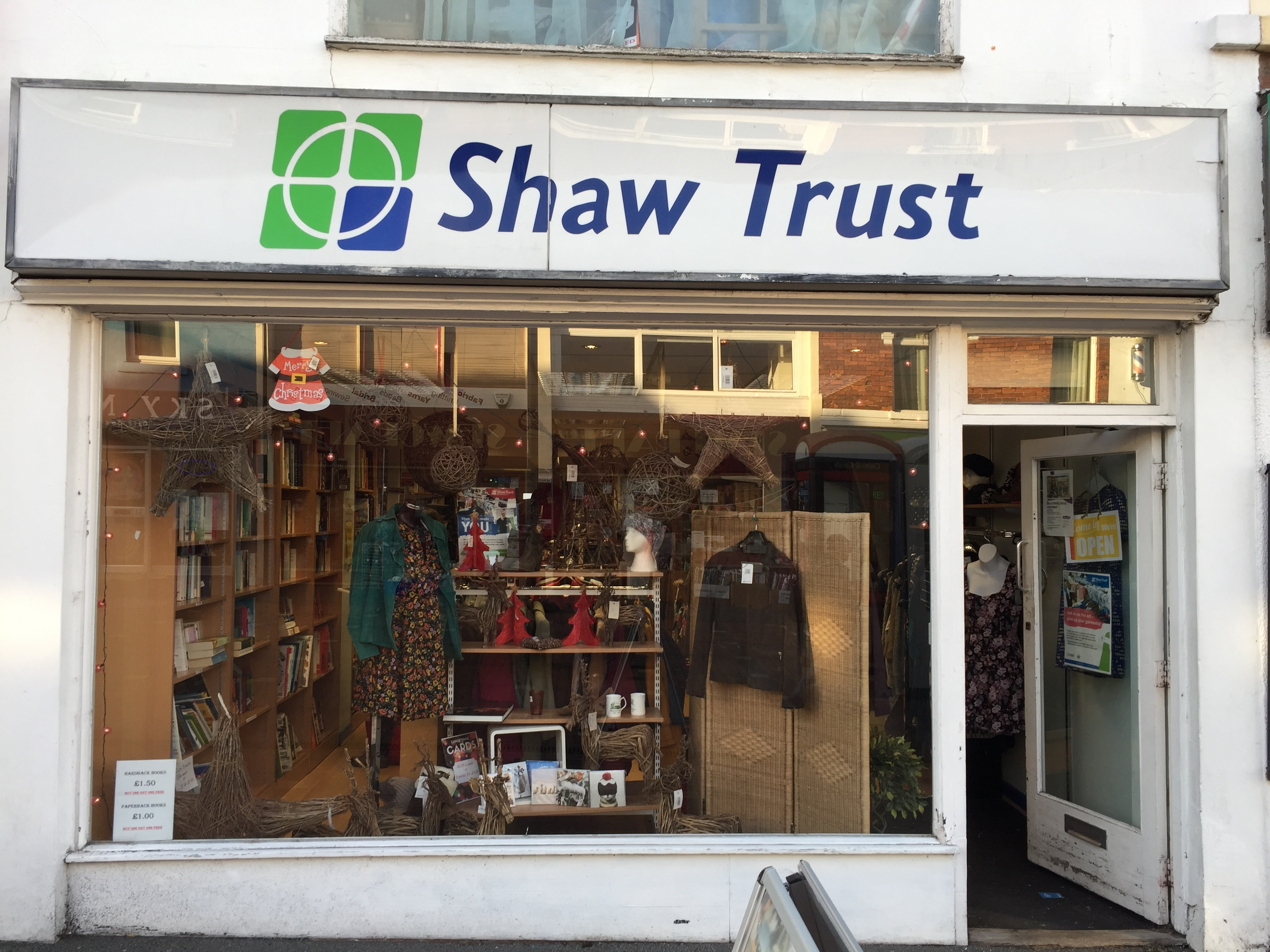 Shaw Trust - Charity shop - Swindon - Swindon, Wiltshire SN1 1SD - 01793 539824 | ShowMeLocal.com