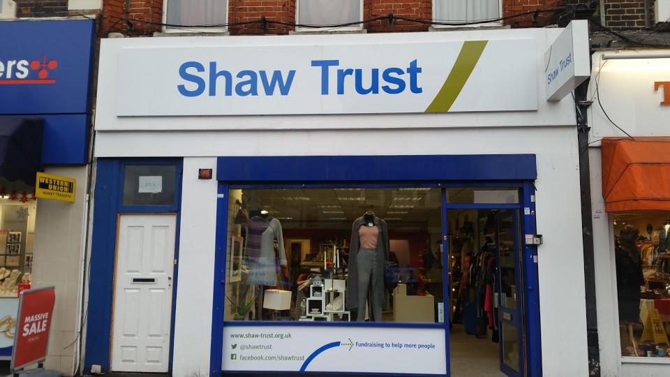 Shaw Trust - Charity shop - Walworth