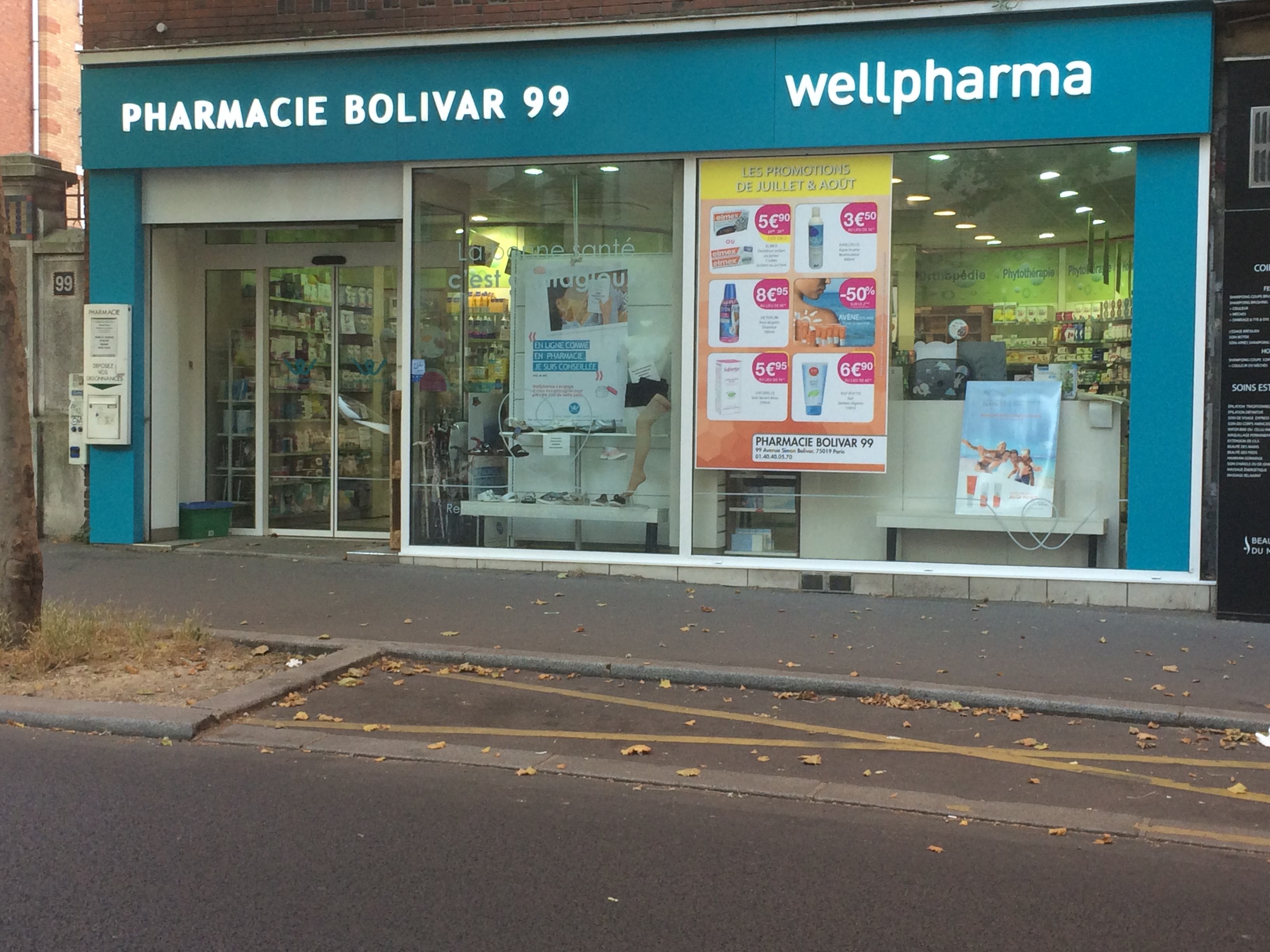 Pharmacie wellpharma | Pharmacie Bolivar 99