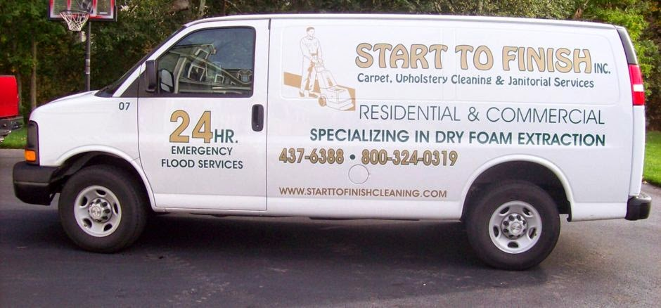 Start To Finish Carpet, Upholstery Cleaning & Janitorial Service Inc.