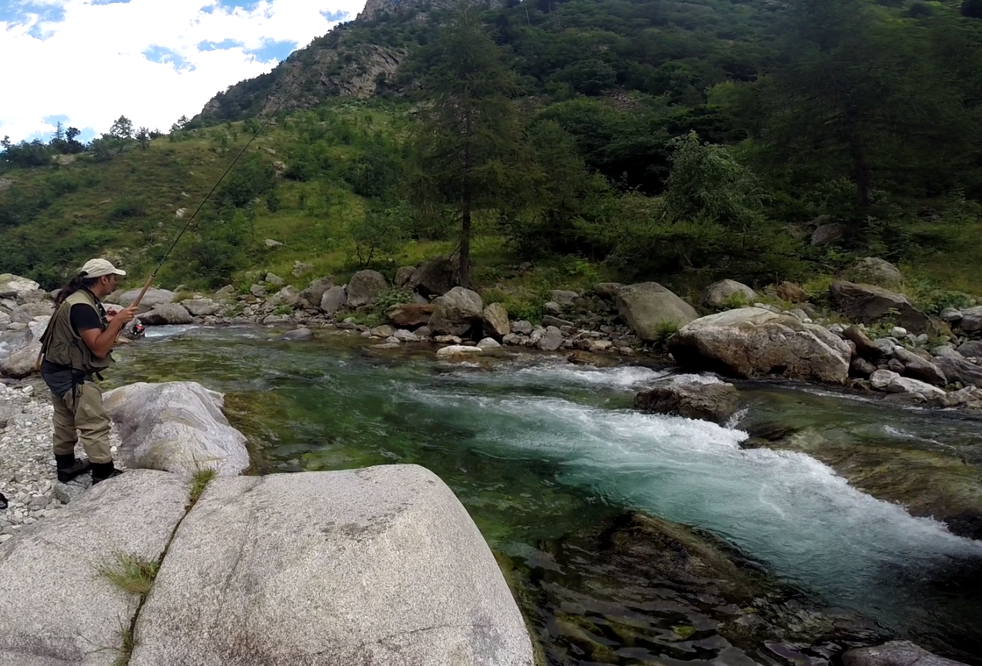 Angelo Palazzini Moniteur Guide de Pêche dans la Sorgue le Verdon et les Alpes du Sud