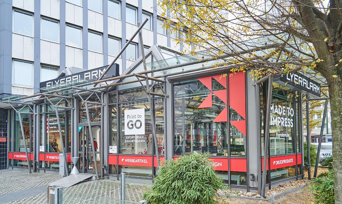 Bild der FLYERALARM Store Düsseldorf