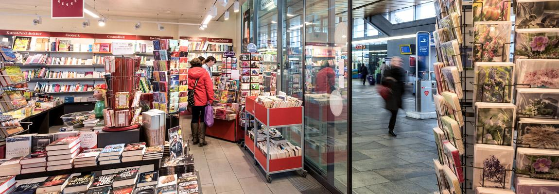 Orell Füssli Bahnhof SBB Basel