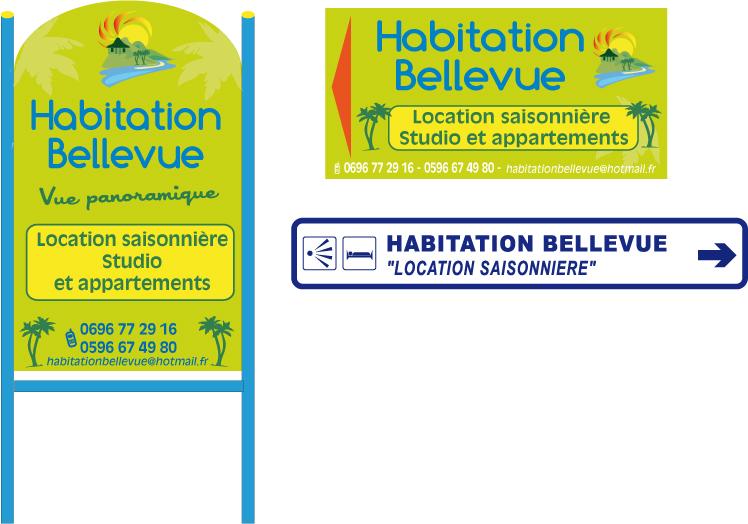 HABITATION BELLEVUE - Studio BEQUIA