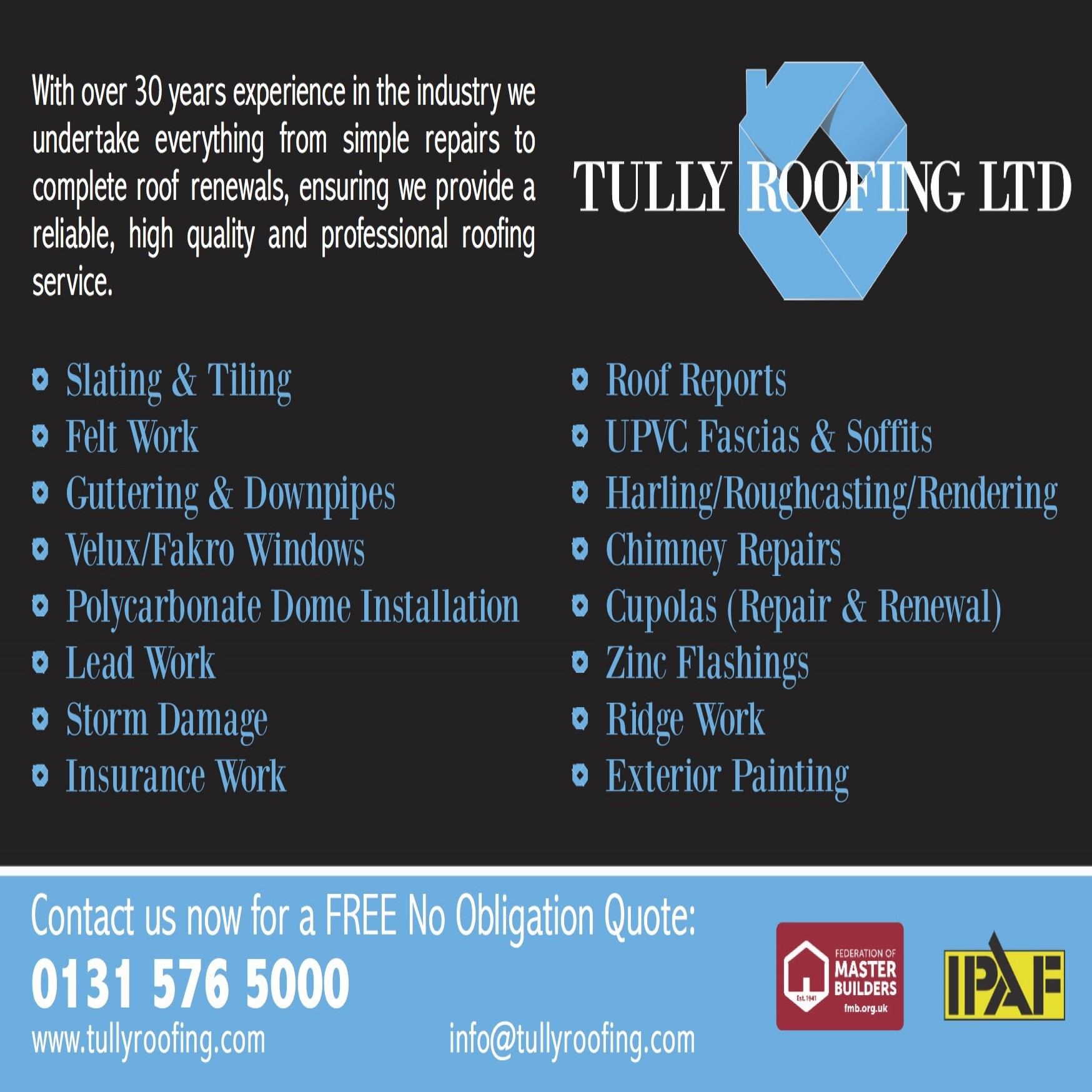 Tully Roofing Ltd