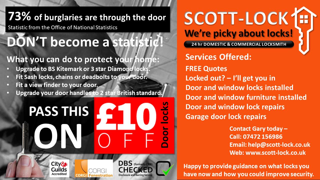 SCOTT-LOCK Locksmiths