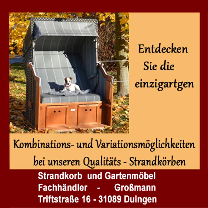 Firma Großmann Strandkorb & Gartenmöbel Fachhandel