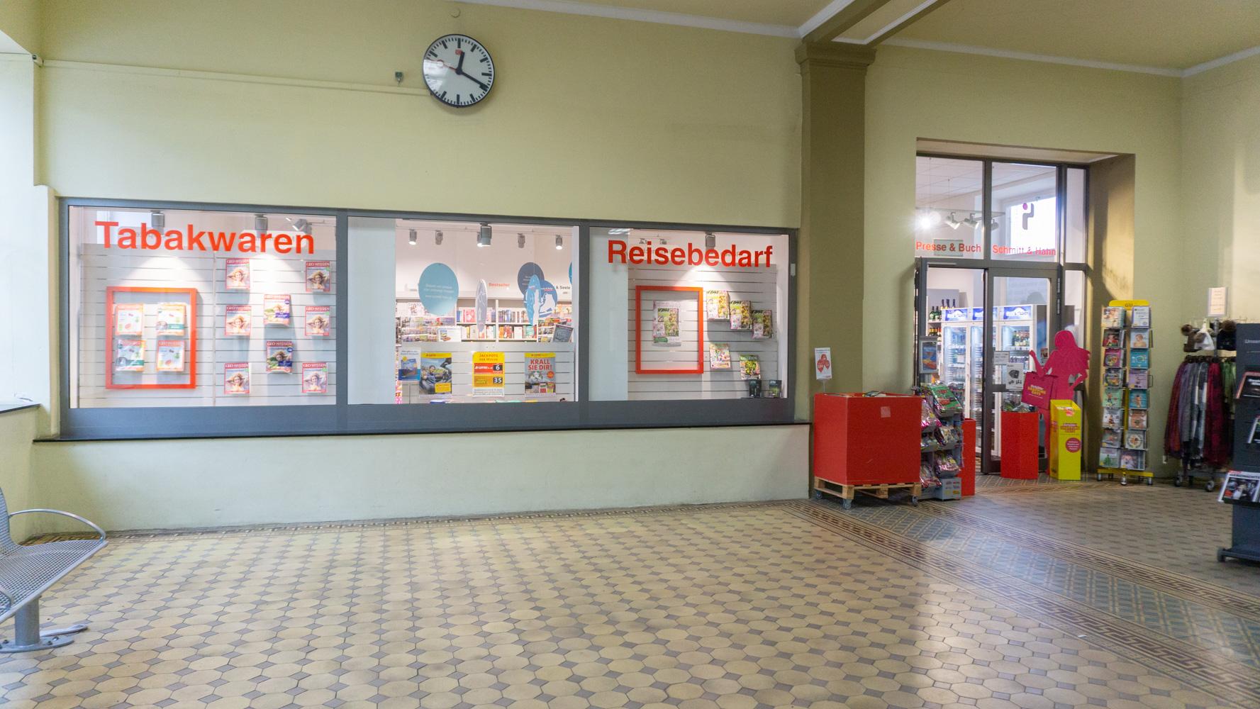 Schmitt & Hahn Buch und Presse im Bahnhof Bad Kissingen