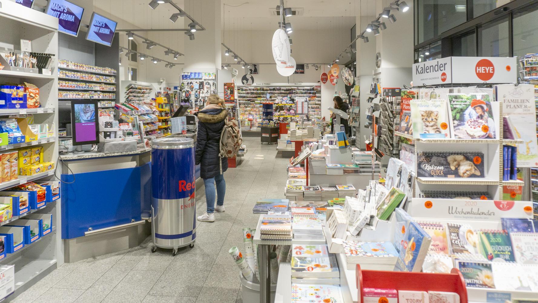 Schmitt & Hahn Buch und Presse im Bahnhof Baden-Baden