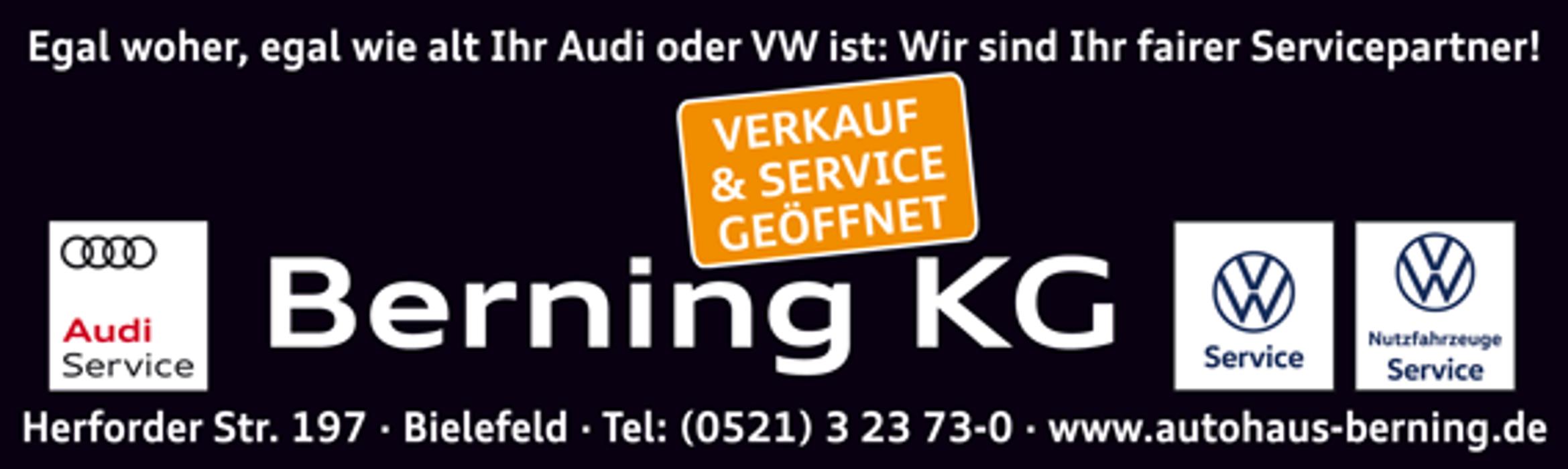 Bild zu Autohaus Berning KG in Bielefeld