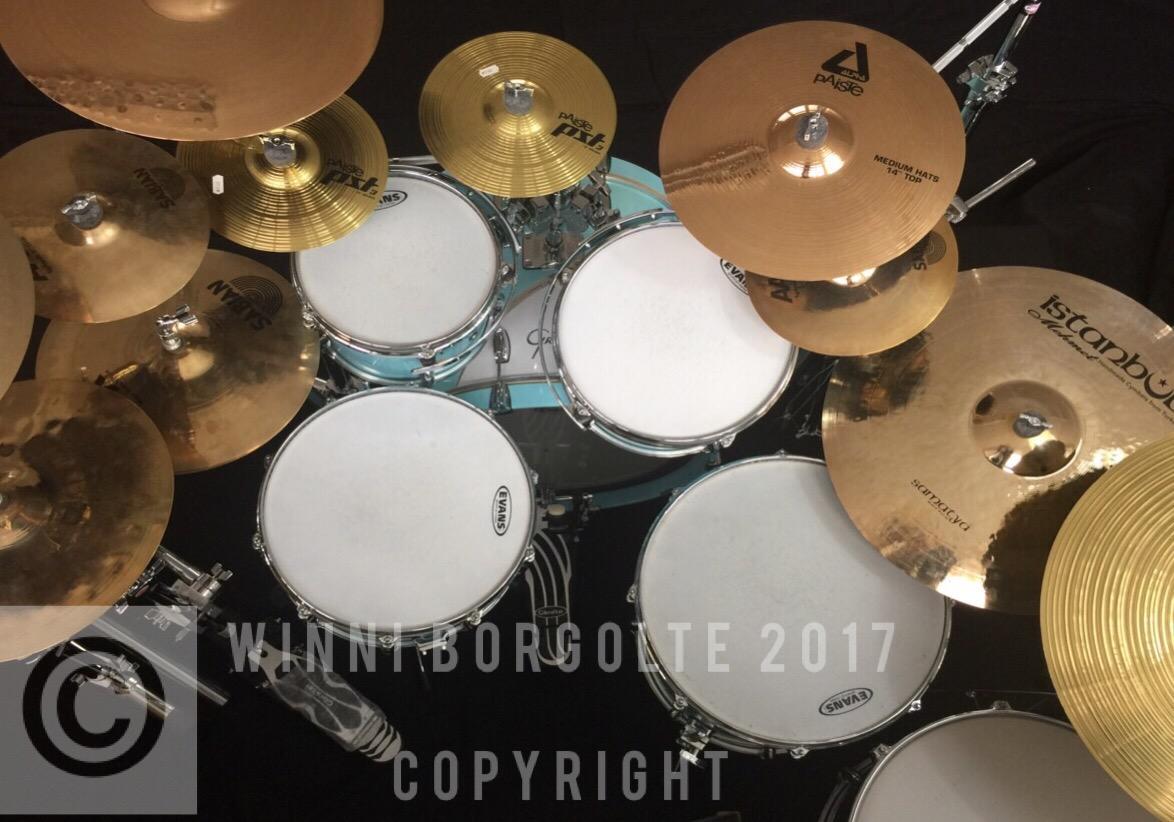 Schlagzeugschule Kassel -Ecole de Batterie-Winni Borgolte