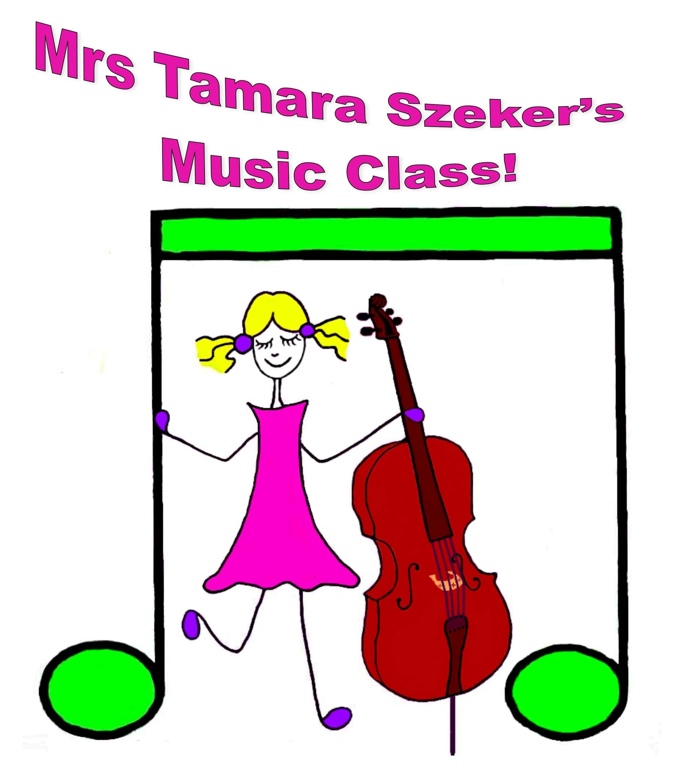 Mrs Tamara Szeker's Music Class