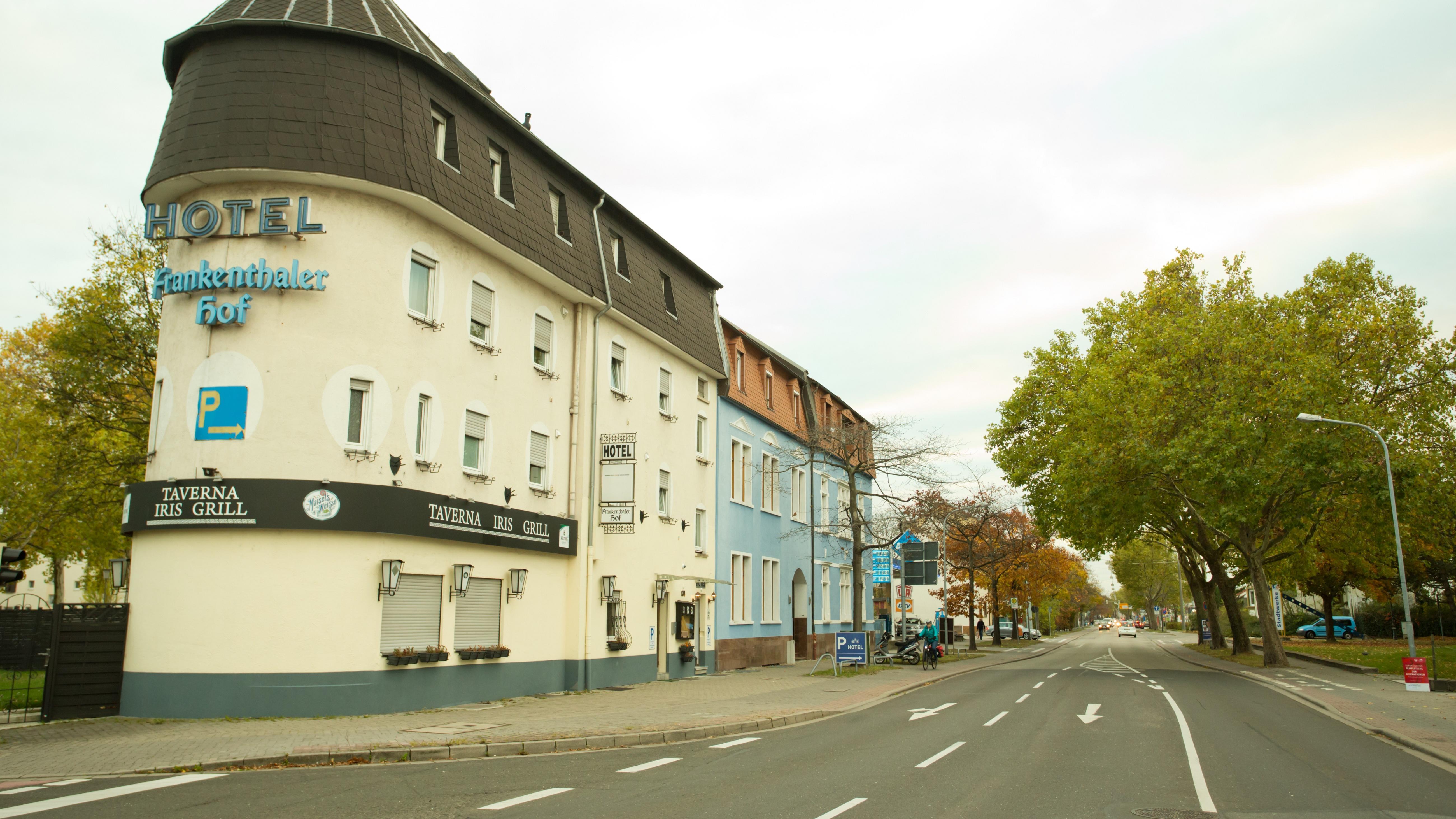 Hotel Frankenthaler Hof, Wormser Straße in Frankenthal (Pfalz)