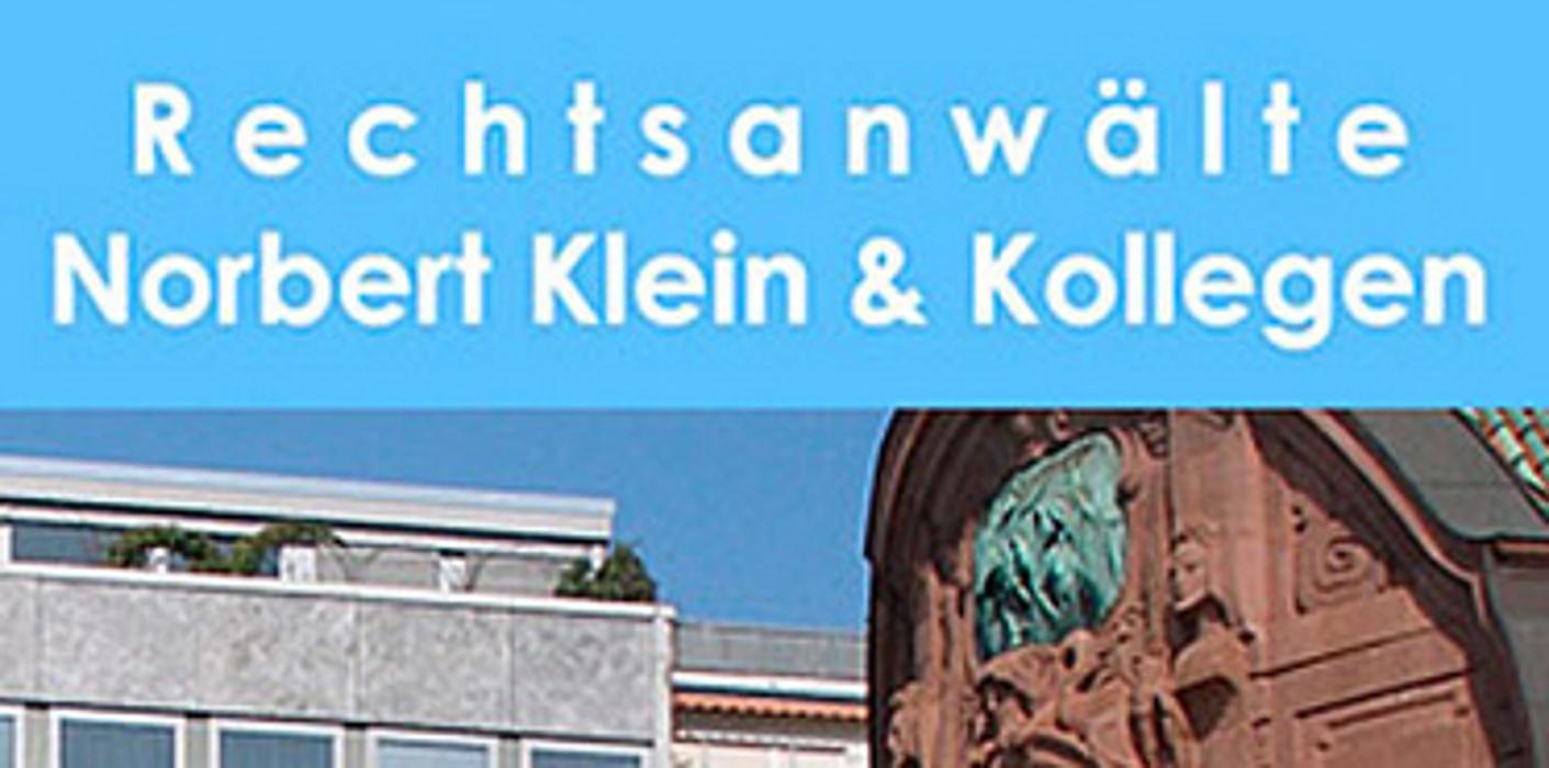 Bild zu Rechtsanwälte Norbert Klein & Kollegen in Mannheim
