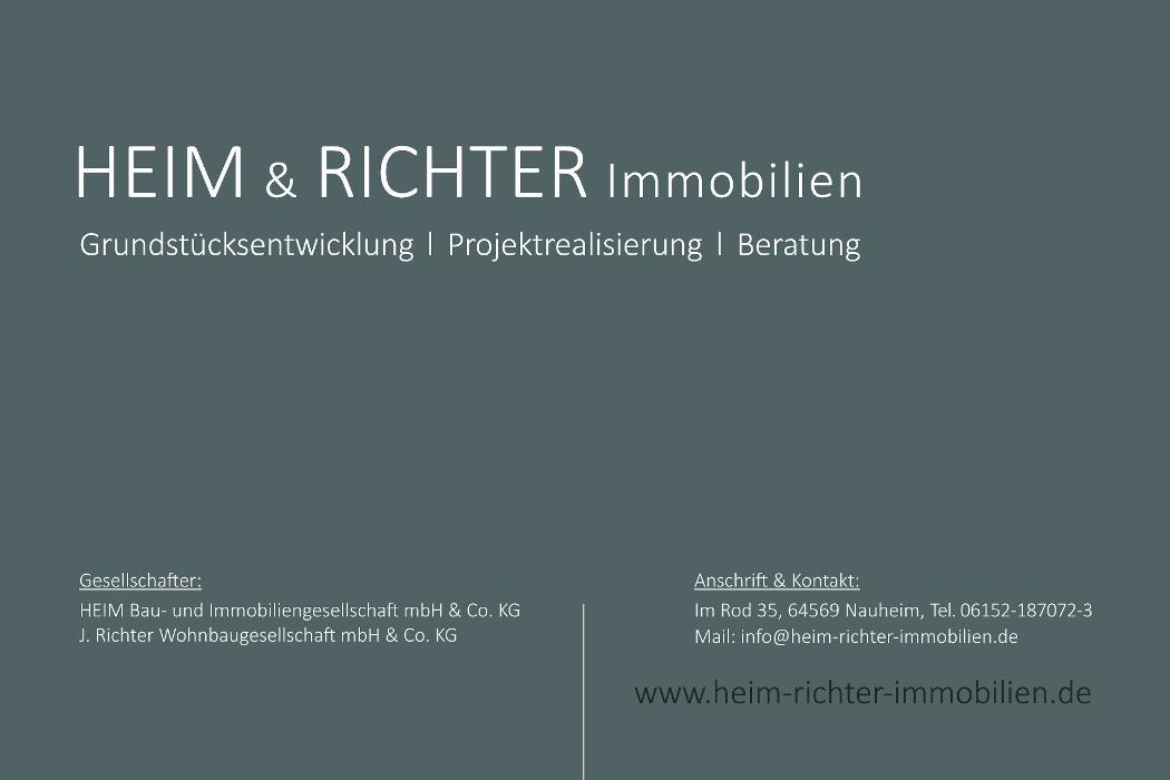 Bild zu HEIM & RICHTER Immobilien GbR in Nauheim Kreis Gross Gerau