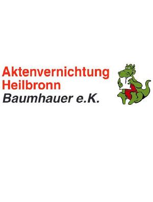 Aktenvernichtung Heilbronn Baumhauer e.K. Logo