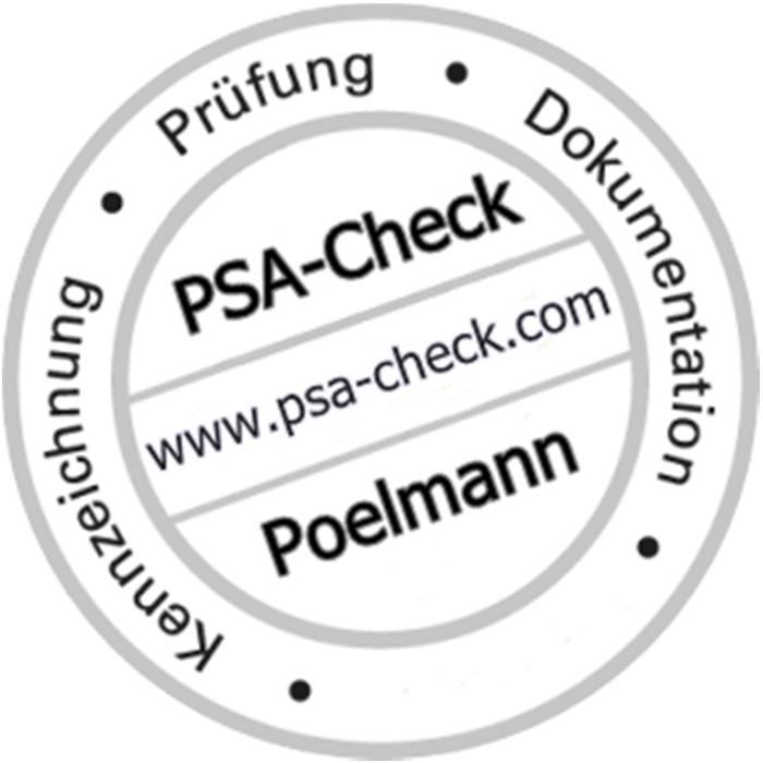 Bild zu PSA-CHECK Poelmann Prüfung von Sekuranten, Leitern u. Tritte, Steigleitern, Regale, Steigschutz, PSAgA in Waltrop
