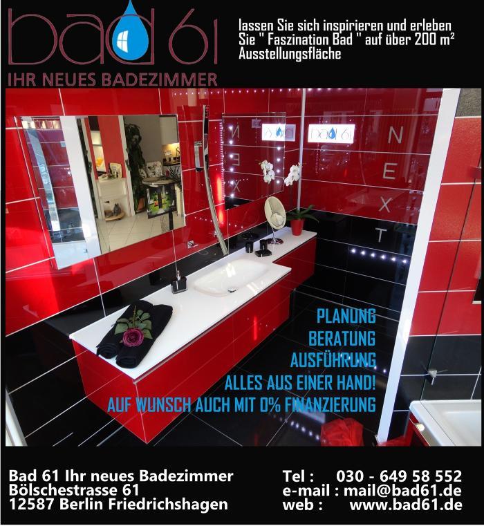 Bild zu Bad61 Ihr neues Badezimmer in Berlin