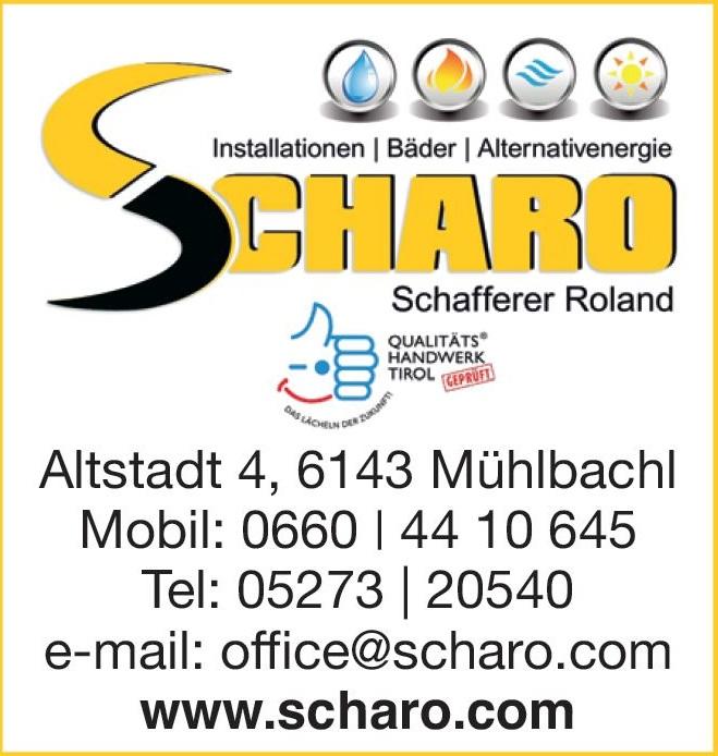 Scharo Installationen