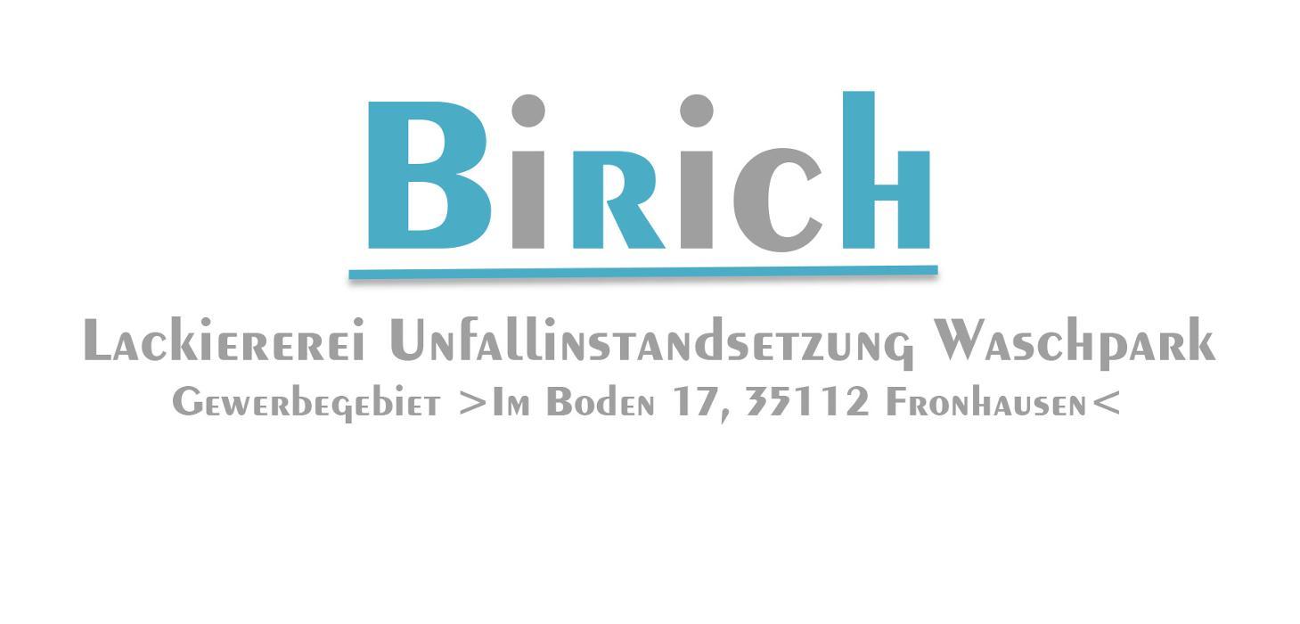Bild zu Autolackiererei Birich in Fronhausen