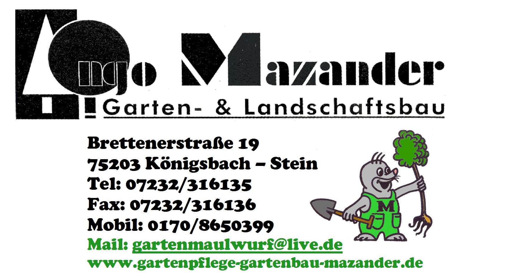 Garten Landschaftsbau Ingo Mazander Gartenbau In